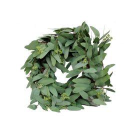 Green Leaf Wreath Garland