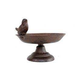 Metal Bird on pedestal