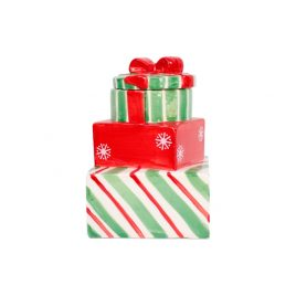 Present Box Christmas Ceramic Box