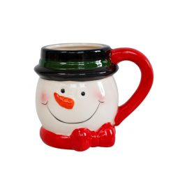 Snowman Christmas Ceramic Mug