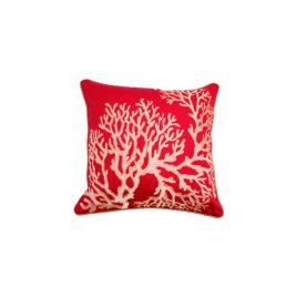Red Corol Pillow