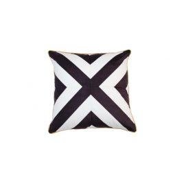 Black & White Cross Pillow