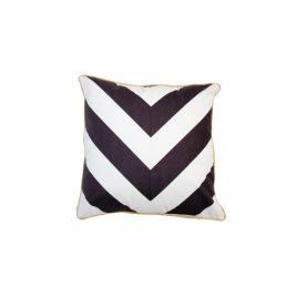 Black & White Zigzag Pillow