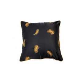Navy Blue Feather Pillow
