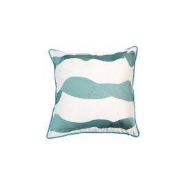 Greenish Wave Pillow