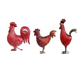Red Iron Rooster (S)