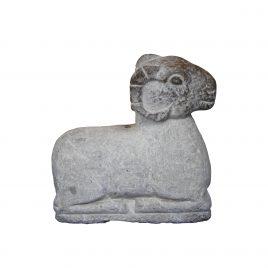 Beige Stone Goat