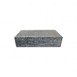 Grey Wood Grain Decorative Box (L)
