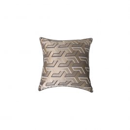 Geometric Grey Pillow