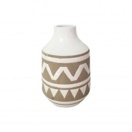 Painted African Vase