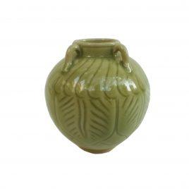Celadon Glazed ceramic vase