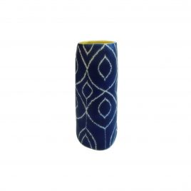 Geometric Indian Ceramic Vase