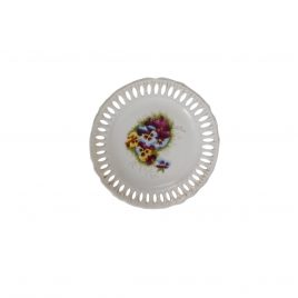Collector wall plates  Purple flower
