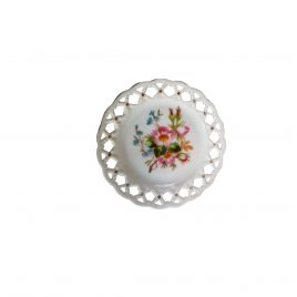 Collector wall plates Openwork plate flower