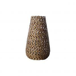 Metal Modern Circular Vase (L)