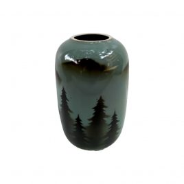 Christmas Finland Pattern Ceramic Vase (Vintage Collection)