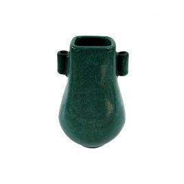 Emeral Green Ceramic Vase (Vintage Collection)