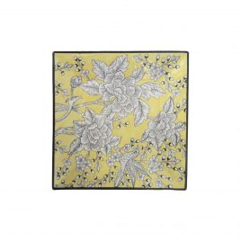 Yellow Rose Ceramic tray