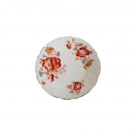 Collector wall plates red flower