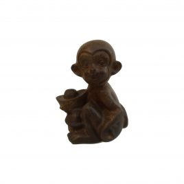 Antique Chinese Wooden Monkey