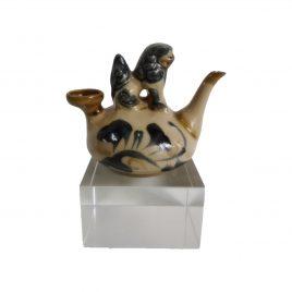 Vintage Chinese Ceramic Wine Jug